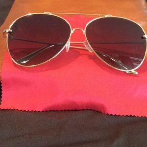 c4551089bf2 AQS Tommie 60MM Aviator Sunglasses